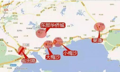 深圳6条地铁延长线 哪些到你家