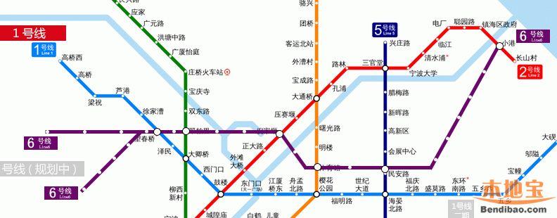 宁波地铁6号线最新消息 继续更新图片