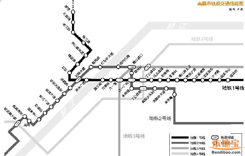 南昌地铁2号线最新消息 线路图 站点 通车时间图片