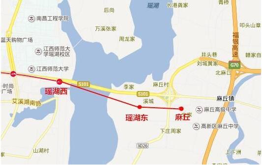 南昌地鐵1號線東延線規劃