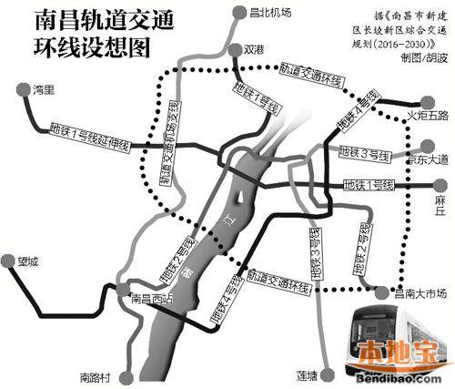 南昌地铁新增四线路最新消息