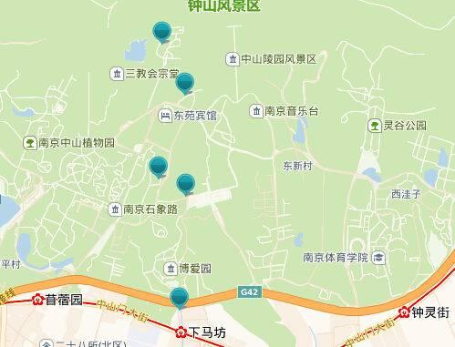 南京旅游专线2号线线路图