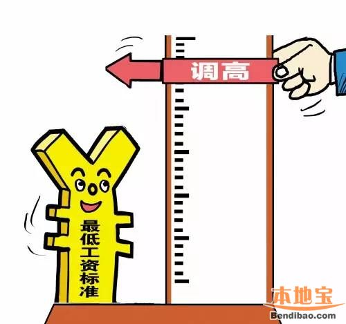 2016年江苏省最低工资标准