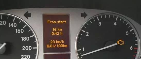 汽车仪表盘指示灯图解 这10个灯亮一定要停车高清图片