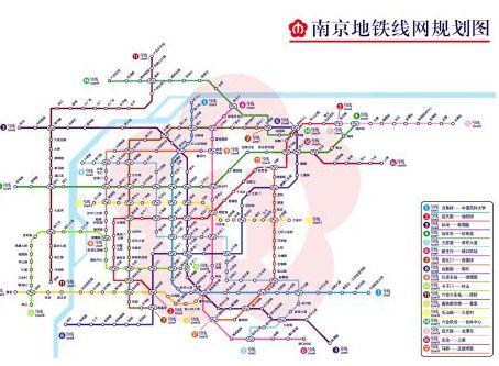 南京地铁6号线最新线路图图片
