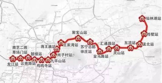 南京地铁4号线一期线路图-南京地铁4号线列车用沙袋做不载客试运行