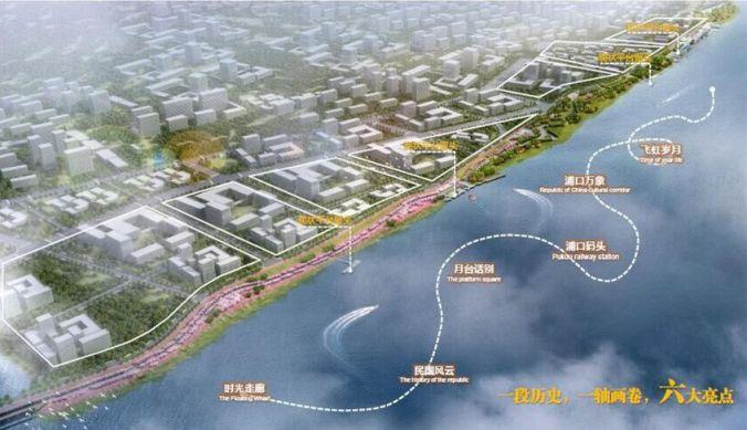 > 南京江北新區長江岸線濕地保護工程位置        2019年11月1日,江北圖片