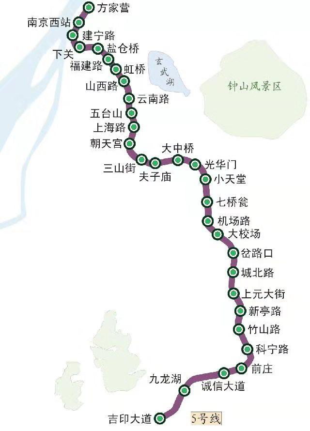 南京地铁5号线最新建设动态