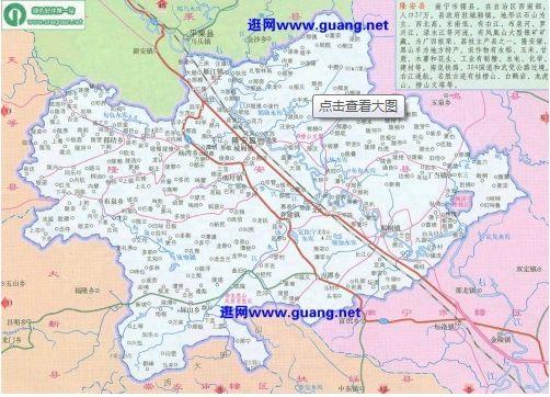 广西交通地图全图_广西南宁隆安县地图全图高清版- 南宁本地宝