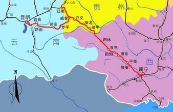 云桂高铁最新消息 云桂高铁线路图 云桂高铁通车时间 南宁本地宝图片