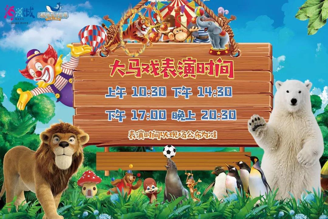 2019年南宁极地海洋世界皇家海洋马戏节(时间 优惠票)