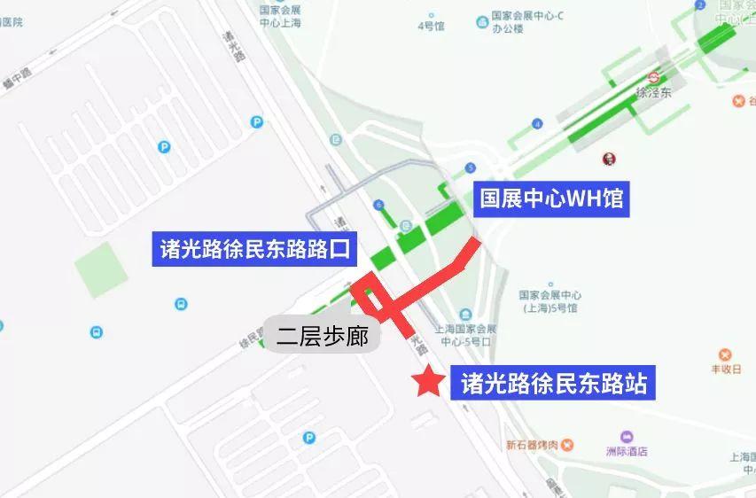 2018上海进落会提交畅通出产行全攻微(地铁 公提交 出产租 泊车场)