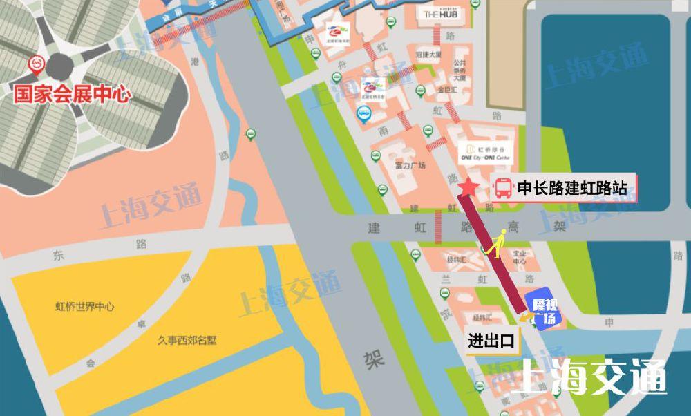 上海进博会虹桥商务区6个定向预约停车场位置 如何达到离开