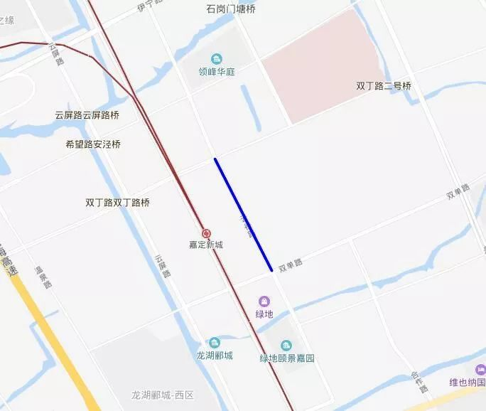 出行提醒:嘉定云谷路封闭施工 嘉定14路公交临时改道