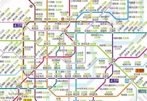 上海地鐵(无障碍)卫生间位置信息汇总