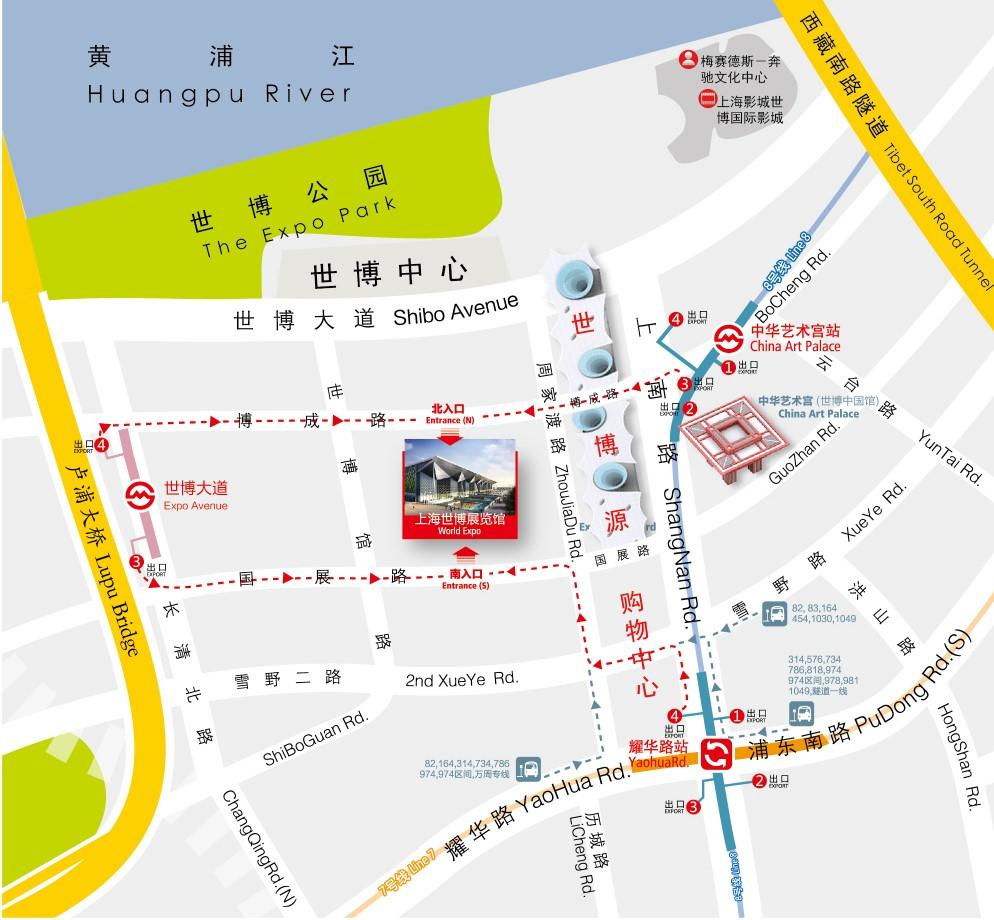 上海世博展览馆地址在哪 怎么坐车