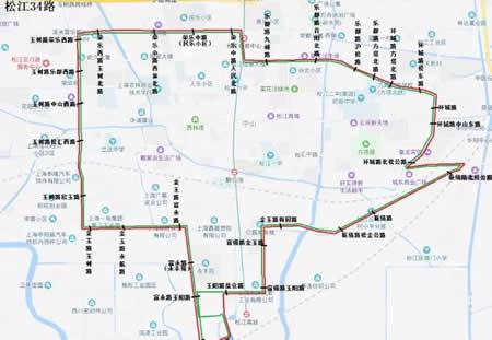 8月22日起 上海松江6条公交线路将调整