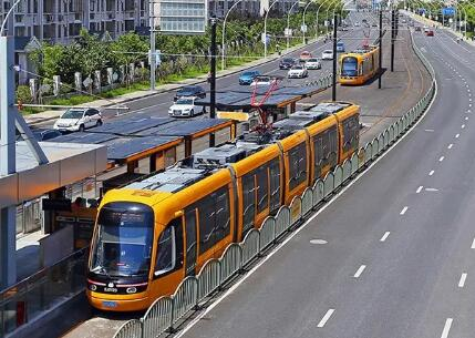 上海松江有轨电车1号线时刻表调整 运行间隔时间缩短