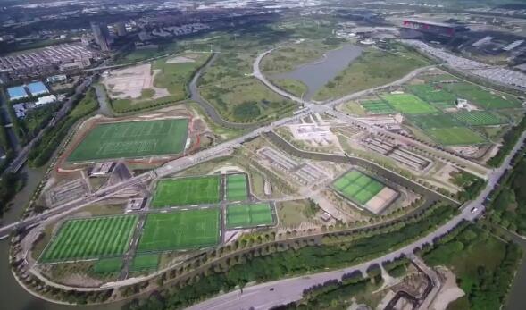 上海市民体育公园一期建成落地 预计2020年元旦正式开园
