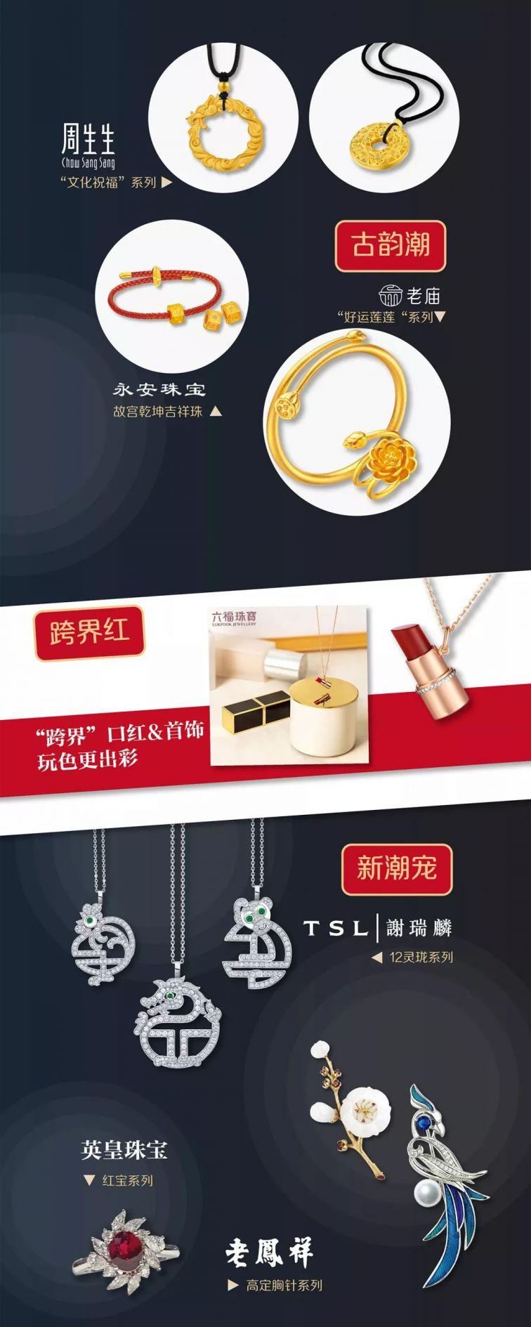 上海第一八佰伴2019珠宝节各大品牌折扣