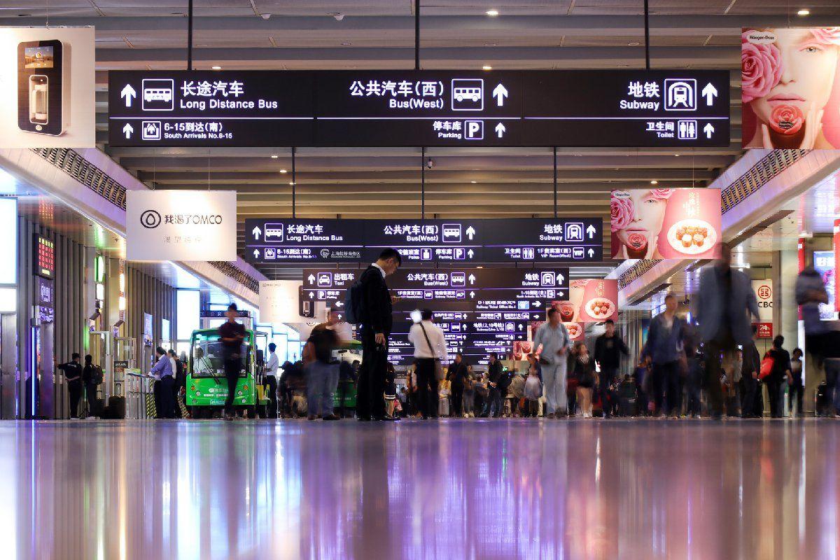上海虹桥等48个长三角区域内火车站将启用电子客票