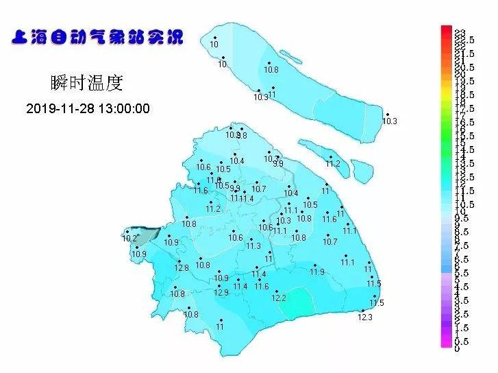 双休日迎新一轮冷空气 上海12月初最低5℃