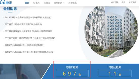 徐汇697套公租房可申请 附申请流程及申请条件