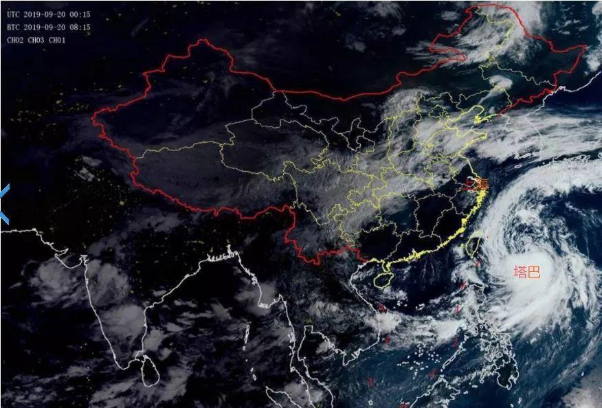 2019年第17号台风塔巴对上海有什么影响吗?