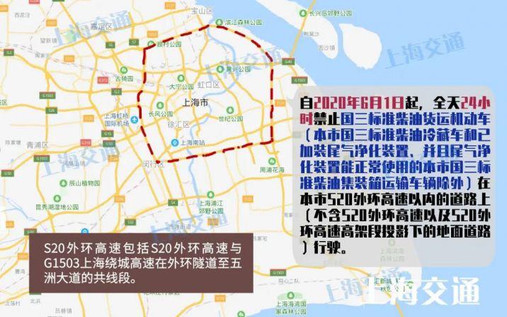 6月1日起 上海全天禁止国三柴油货运机动车行驶