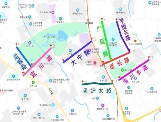 2020上海新增22条林荫道正式命名(附片区位置图)