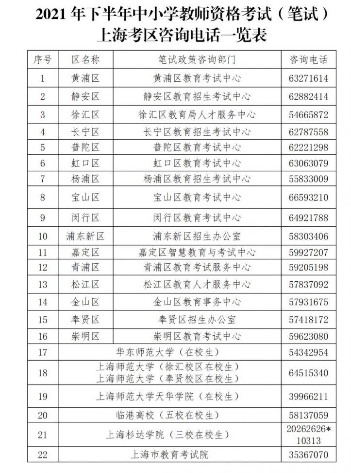 下半年中小学教师资格考试出炉  上海考区9月2日起可报名