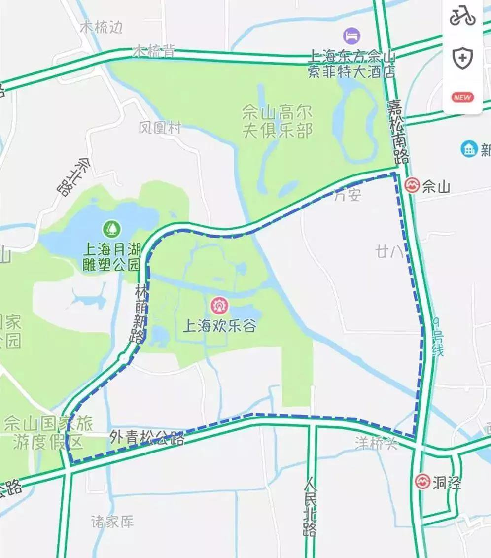 上海松江秋季骑行线路推荐  到这些地方感受秋意浓