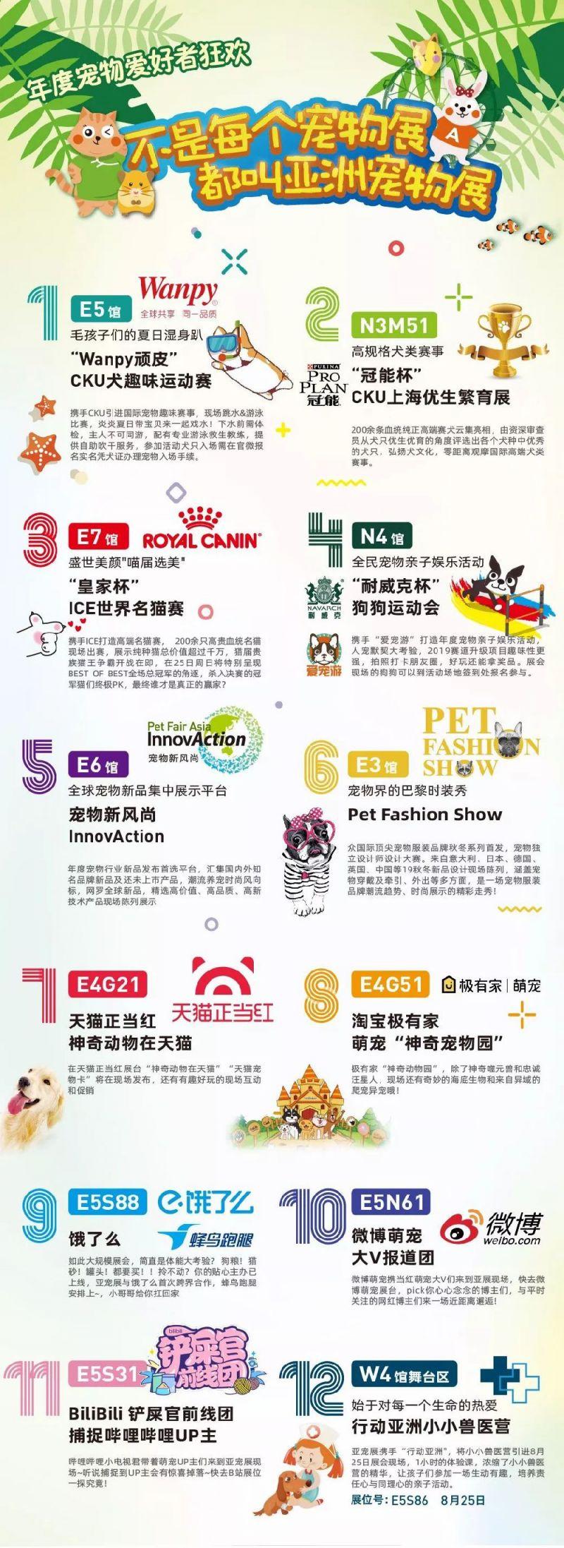 2019亚洲宠物展反恐特战犬表演时间 展馆