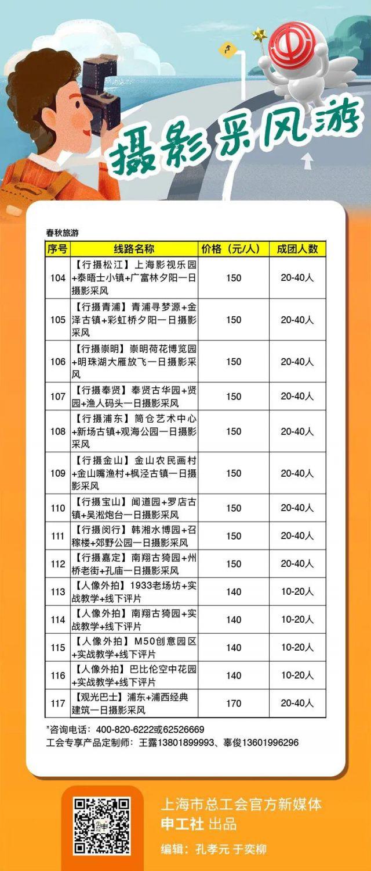 2020游上海5大主题117个特色线路推荐