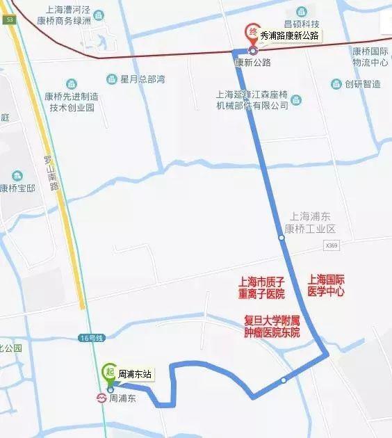 张江科学城新增1159路公交 附公交站点