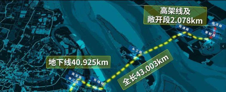 崇明线东滩站12月11日动工 建成后可坐地铁游崇明