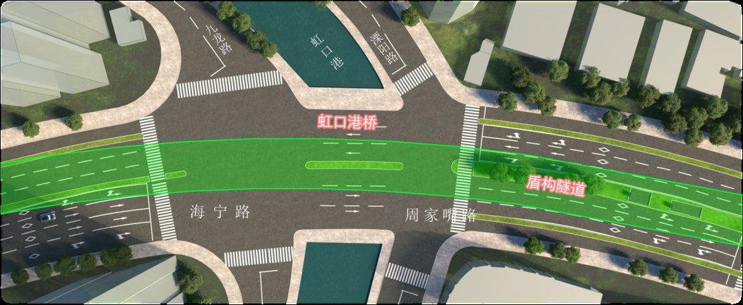 上海虹口港桥5月29日起改造 绕行建议发布