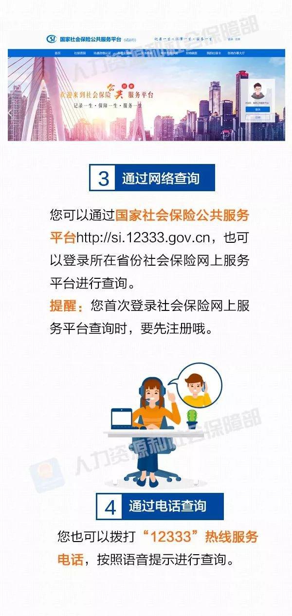 在沪工作查询社会保险缴费情况的五种方式