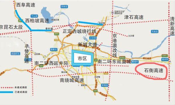 石衡高速规划图