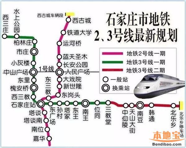 石家庄地铁3号线最新消息(持续更新)