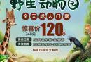 深圳野生动物园全天票