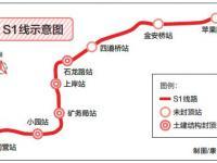 北京磁浮S1线线路示意图公布 年内将全