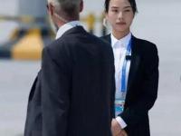 G20女保镖舒心走红  海量照片曝光