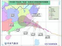 2016年第17号台风鲇鱼最新路径消息高清