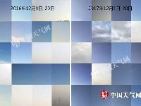 """12月北京蓝天""""霸屏"""" 真是大风吹来的吗"""