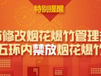 2018北京各区禁放烟花爆竹区域范围公布