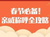 春节亲戚称呼全攻略,过年回家不尴尬