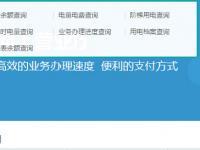 重庆电费查询系统