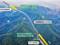 G319浏阳天马山隧道改扩建工程预计202