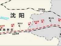 抚顺地铁1号线线路图